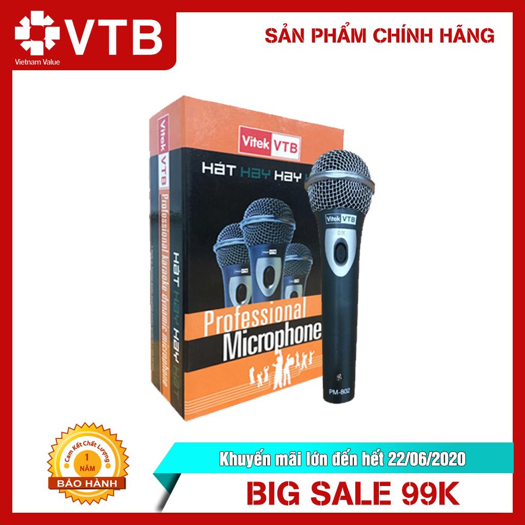 Micro có dây PM 802