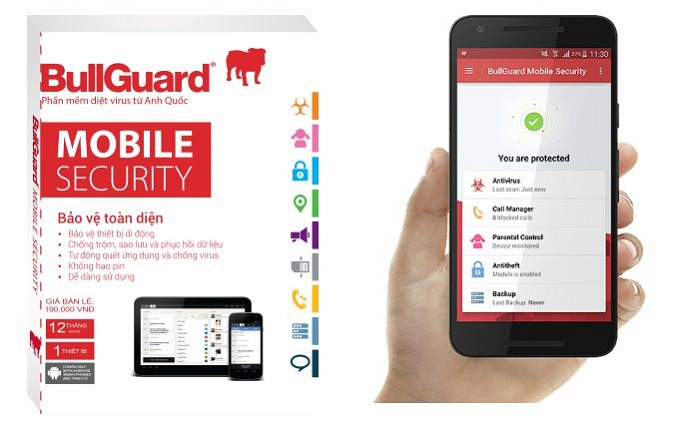 BullGuard Mobile Security 12 tháng