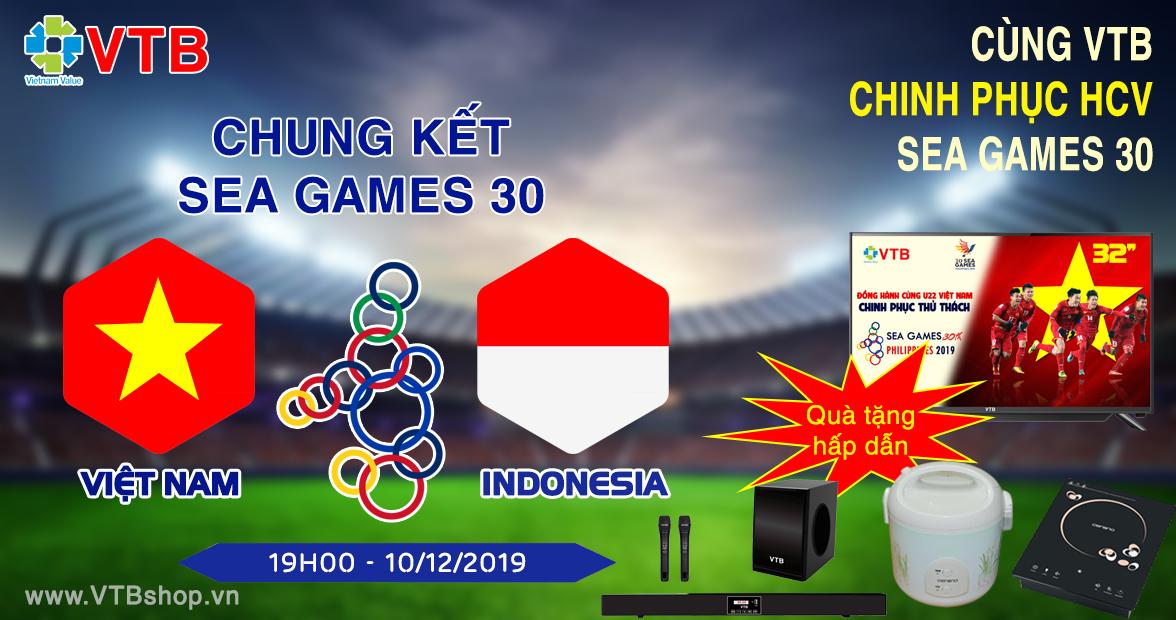 CHUNG KẾT: VIỆT NAM VS INDONESIA (19h00 - 10/12)