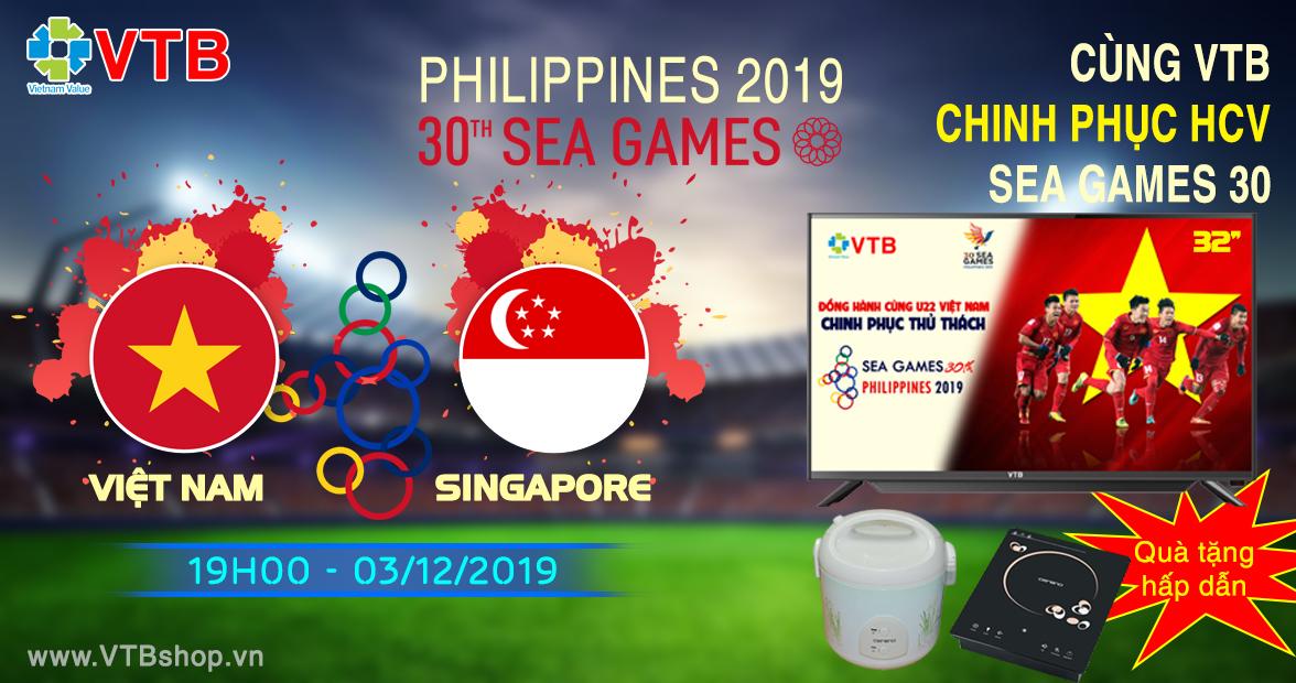 VIỆT NAM VS SINGAPORE (19h00 - 3/12)